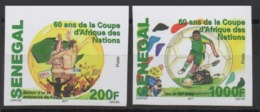 SENEGAL 2017 - IMPERF ND - SOCCER AFRICA CUP OF NATIONS FOOTBALL COUPE AFRIQUE NATIONS MARGIN RARE MNH ** - Sénégal (1960-...)