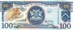 TRINIDAD AND TOBAGO $100 BLUE BIRD FRONT & BUILDING BACK SIGN?. DATED 2006 UNC P.? READ DESCRIPTION CAREFULLY !!! - Trinidad & Tobago