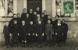 CARTE PHOTO  CLASSE  ECOLIERS  PROFESSEUR  à RODEZ - Fotografia