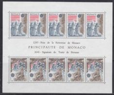 Europa Cept 1982 Monaco Sheetlet ** Mnh (44903) ROCK BOTTOM PRICE - Europa-CEPT