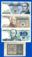 Pologne  7  Billets - Polonia
