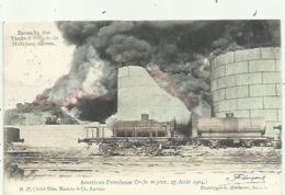 Hoboken - Anvers - Incendie Des Tanks A Petrole 1904, Mooi Verzonden - Antwerpen