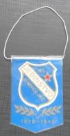 NK JEDINSTVO DONJI MIHOLJAC CROATIA SOCCER / FUTBOL / CALCIO OLD PENNANT, SPORTS FLAG - Apparel, Souvenirs & Other