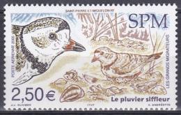St. Pierre Und Miquelon 2005 Tiere Fauna Animals Vögel Birds Oiseaux Aves Uccelli Zugvögel Regenpfeifer, Mi. 944 ** - Unused Stamps