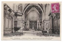 Cpa 35 Paimpont - Intérieur De L'église... - Paimpont