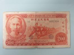 VIETNAM-200 DONG 1951.VERY RARE - Vietnam