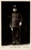 Korea Coree, Crown Prince Uimin Yi Un In Uniform, Medals (1910s) Rotary RPPC (1) - Korea (Zuid)