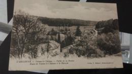 CPA -  L ' ARGONNE- VIENNE LE CHATEAU - Vallée De La Bresme - Route De Vienne Le Château à La Harazée - Autres Communes