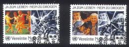 LL-/-128-   N° 71/72, Obl., Cote 3.45 €, Voir IMAGE Pour Detail , - Centre International De Vienne