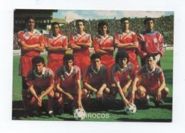 Postcard  1980years  SOCCER TEAM SOCCER STADIUM CALCIO FUTBOL FOOTBALL MOROCCO MAROC MARRUECOS AFRIKA AFRICA AFRIQUE - Soccer