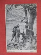 Adam & Eve  Signed Artist   Ref 3660 - Postcards