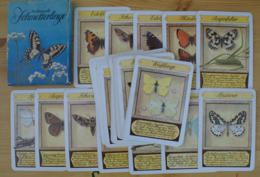 Butterflies Papillons Schmetterlinge Germany GDR Kartenspiel Card Game 32 Cards - Playing Cards (classic)