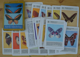 Butterflies Papillons Schmetterlinge Germany GDR Kartenspiel Card Game 32 Cards Tropical - Playing Cards (classic)