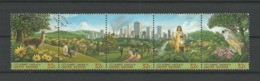United Nations NY 1996 City Summit Strip Y.T. 699/703 ** - Ongebruikt
