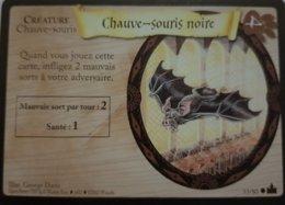 TRADING CARD GAME - Harry Potter - Aventures à Poudlard - N° 53 / 80 - Chauve Souris Noire - Commune - Harry Potter