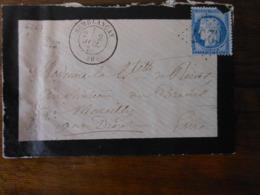 Lettre GC Semblancay 36 Indre Et Loire N° 6267 - Poststempel (Briefe)
