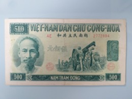VIETNAM-500 DONG 1951.RARE.XF - Vietnam