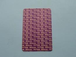 KNORR ( Klaveren 3 ) ( Details - Zie Foto's Voor En Achter ) !! - Playing Cards (classic)