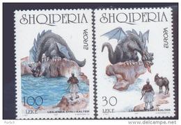 CEPT Sagen Und Legenden / Legends - Mythes Albanien 2619 - 2620 ** Postfrisch, MNH, Neuf - Europa-CEPT