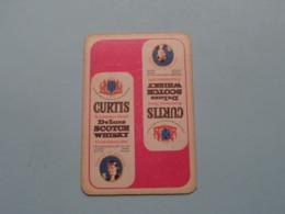 CURTIS Scotch Whisky ( Schoppen Heer ) ( Details - Zie Foto's Voor En Achter ) ! - Playing Cards (classic)