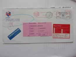 Grande-Bretagne GREAT BRITAIN 26-1-96 Retour à L'envoyeur Gone Away Déménagé CCIBM - Autres