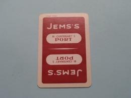 JEMS'S Port ( Ruiten 5 ) ( Details - Zie Foto's Voor En Achter ) ! - Playing Cards (classic)