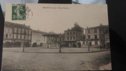 CPA - MIRANDE Place D'Astarac - Mirande