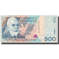 Billet, Albania, 500 Lekë, 2001, KM:64a, TTB - Albanië
