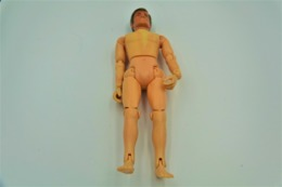 Vintage ACTION MAN TONG IND CO : SOLDIER MISSING CLOTHES For Parts Or Repair - Made In HongKong Patent USA & UK - GI JOE - Action Man