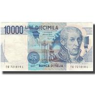 Billet, Italie, 10,000 Lire, KM:112c, TTB - 10000 Lire