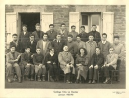 ( BRETAGNE)(22 COTES DU NORD)( LANNION ) ( ECOLES )( FELIX LE DANTEC ) 1950.1951 - Places