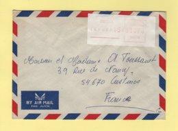 Nouvelle Caledonie - Dumbea - 1989 - Par Avion Destination France - Briefe U. Dokumente