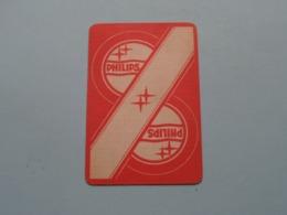 PHILIPS ( Klaveren 3 ) ( Details - Zie Foto's Voor En Achter ) ! - Speelkaarten