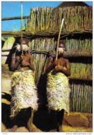Carte Postale  Afrique Lesatho  Basutoland  Enfants Basutos Parés Pour L'initiation Trés Beau Plan - Non Classés
