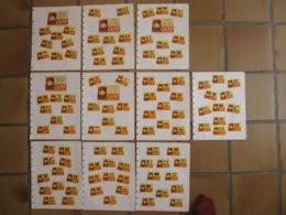 CAMP - Flags Of Nations - Drapeaux - 104 étiquettes Boites D'allumettes Safety Matches - Matchbox Labels