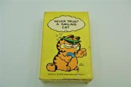"""Speelkaarten, Garfield Old Odie Maid Card Game Playing Cards Memory 1978 """"never Trust A Smiling Cat"""" , ** - Vintage - Speelkaarten"""