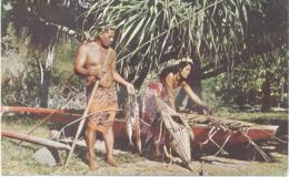 Tahiti : Retour De Pèche . - Tahiti