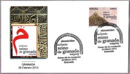 1000 Años REINO DE GRANADA - 1000 Years KINGDOM OF GRANADA. SPD/FDC Granada Andalucia, 2013 - Islam