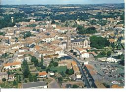 LA CHATAIGNERAIE - Vue Panoramique Aérienne - Le Centre Du Bourg - La Chataigneraie