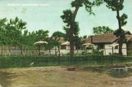 Korea Coree, Navy, Army & Air Force Institutes NAAFI Roadhouse (1940s) Postcard - Korea, South
