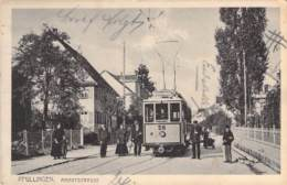 Pfullingen - Marktstrasse Strassenbahn 191? - Otros