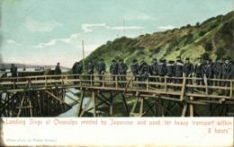 Korea Coree, CHEMULPO INCHEON, Japanese Landing Stage Russo-Japanese War 1905 A - Korea (Zuid)