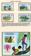 YEAR INTERN. OF CHILD - GRENADA GRENADINES - Mi. Nr. 325/327 + BF 42 - NH - (6532-22.) - Grenada (1974-...)