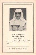 E.Z.M Renata De Voogt Bertha Witte Zuster- Heist - Sint Tillo's Missiebond Brugge - Heist