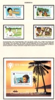 YEAR INTERN. OF CHILD - DOMINICA - Mi. Nr. 625/628 + BF 55 - NH - (6532-22.) - Grenada (1974-...)