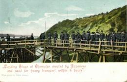 Korea Coree, CHEMULPO INCHEON, Japanese Landing Stage Russo-Japanese War 1905 B - Korea (Zuid)