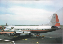 AA - American Airlines Lockheed L-188A Electric N6112A Airways At MDW Airlines Avion - 1946-....: Era Moderna