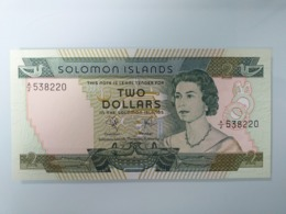SOLOMON-2 DOLLARS 1977.UNC - Solomonen