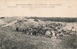 Guerre 1914 1918 Massiges Materiel Et Effets Trouvés Sur Le Champ De Bataille , Correspondance 1917 - War 1914-18