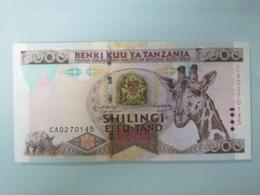 TANZANIE-5000 SHILLINGS 1997.UNC - Tanzania